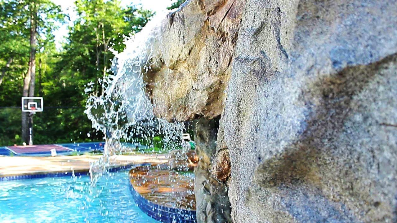 backyard water features trailer youtube