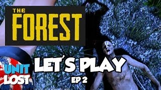 Lets Play - The Forest Part 2: HUMAN EFFIGY!