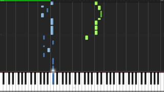 Bloody Stream Jojo's Bizarre Adventure Opening 2 Piano Tutorial Synthesia // Kojocrash