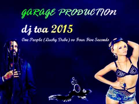 dj toa 2015 - One People (Lucky Dube) vs Four Five Seconds