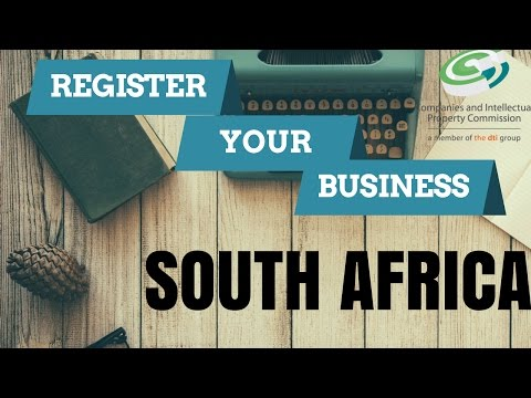 How to register your business in South Africa, very easy!