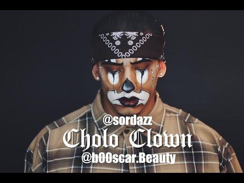 CHOLO CLOWN   Halloween makeup tutorial