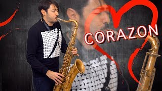 Maluma - CORAZON 🎷[Saxophone Cover] feat. Nego Do Borel