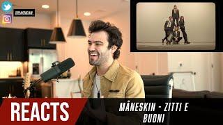 Producer Reacts to Måneskin   ZITTI E BUONI