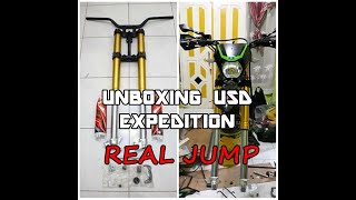 Unboxing USD Expedition Real jump