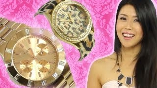 Hottest Watch Trends with Jenny Wu & Guess Watches!