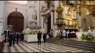 Fiesta del Corpus Christi en la Iglesia de Granada