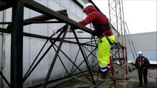 CBHS FORMATION Travaux en hauteur Port du harnais exemples d'ateliers pratiques. www.cbhs.fr