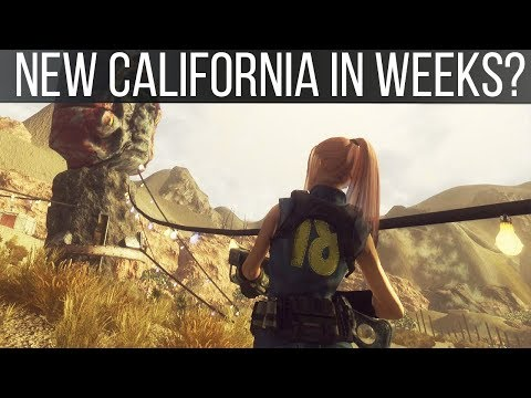 Fallout: New California is Done and May Be WEEKS From Release - Upcoming Mods 180