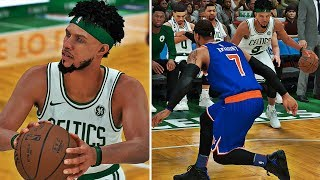 NBA 2K18 MyCAREER - 1st Dunk & Ankle Breaker!! Meeting Fans @ NBA Store! Upgrading To 85 Overall!