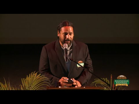 POLYNESIAN FOOTBALL HALL OF FAME ENSHRINEMENT SPEECH VIDEO: TROY POLAMALU