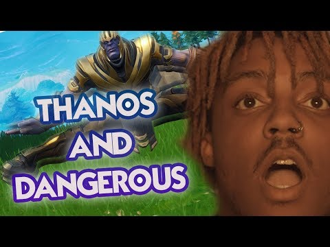 Juice WRLD - Armed & Dangerous (Fortnite Parody) | THANOS AND DANGEROUS