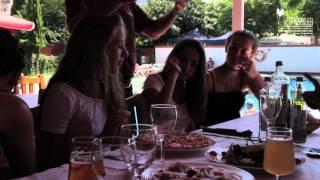 Video Camping Joncar Mar piscina restaurant super Roses Costa Brava