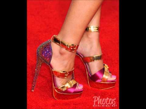 Nicki Minaj Feet