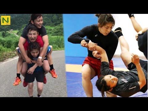 【レスリング】吉田沙保里のトレーニング | Saori Yoshida - strength training