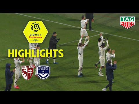 Metz Bordeaux Goals And Highlights