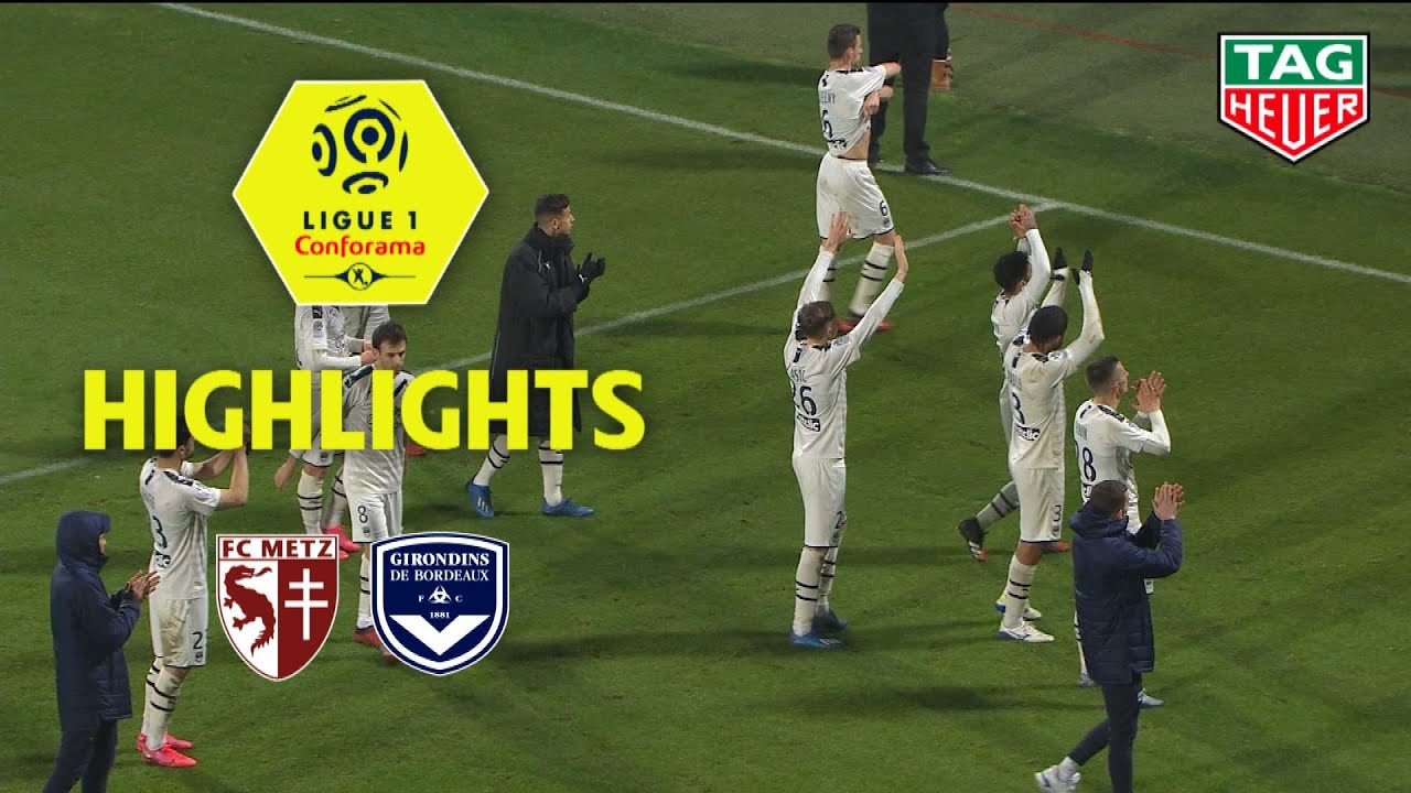 fc metz girondins de bordeaux 1 2 highlights fcm gdb 2019 20 youtube