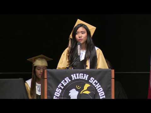 2017 Foster High School Graduation