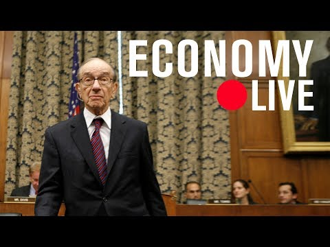 Alan Greenspan on secular stagnation and, possibly, stagflation | LIVE STREAM
