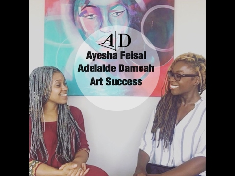 Ayesha Faisal. In conversation with Adelaide Damoah. Art Discussion