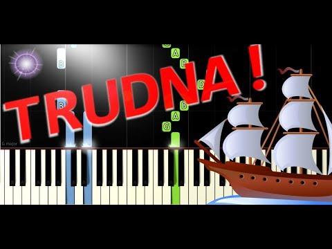 🎹 Bitwa (szanty) - Piano Tutorial (TRUDNA! wersja) 🎹