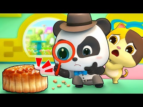 Who Stole Baby Panda's Moon Cakes | Baby Panda's Magic Tie | Magical Chinese Characters | BabyBus