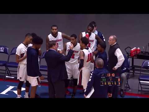 Brookdale Men's Basketball Jersey Blues vs Atlantic Cape Community College Buccaneers