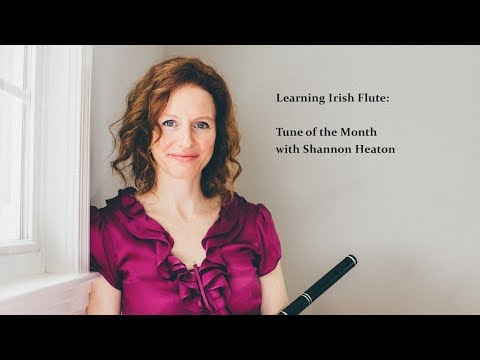 Learning Irish Flute - Tune of the Month with Shannon Heaton - Trip to Athlone [Jig]