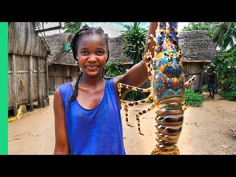 GIANT SEAFOOD on Africa's Biggest Island! Catch and Cook wit