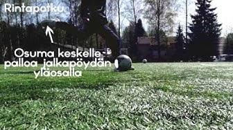 Jalkapallo -opetusvideo