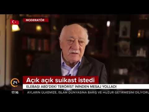 Terörist başı Fetullah Gülen,  ABD'deki ininden suikast mesajı verdi