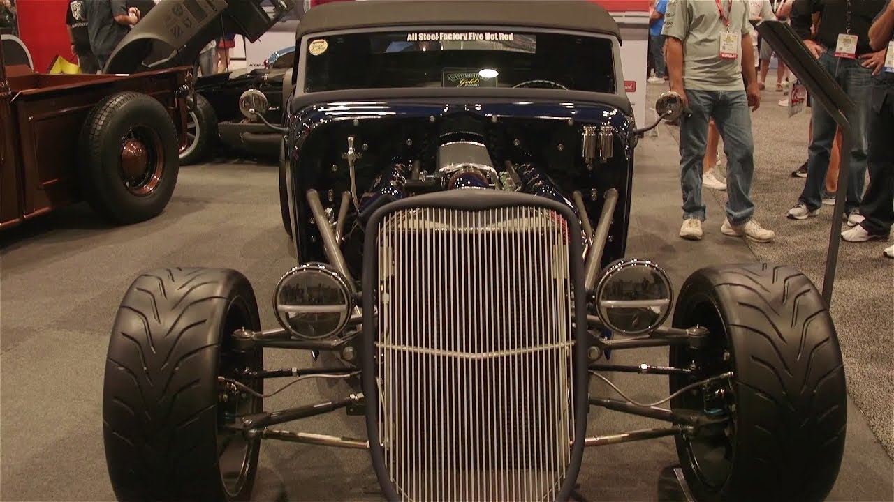 SEMA 2017: Factory Five Racing LS3-Powered '33 Hot Rod ...
