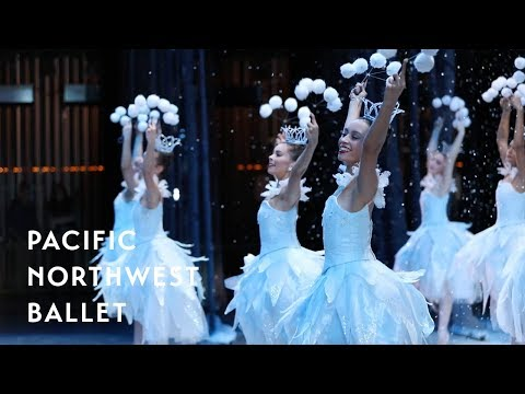 George Balanchine's The Nutcracker® - Waltz of the Snowflakes Backstage