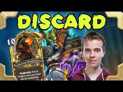 Thijs is playing nice Discard quest warlock (Rastakhan's Rumble)