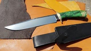 Как сделать нож Боуи -часть 1/ How to make a Bowie knife - Part 1