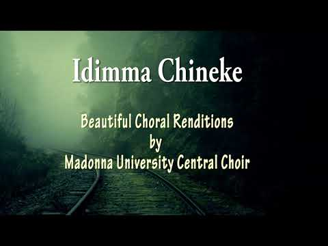Beautiful Choral renditions by Madonna University Central Choir