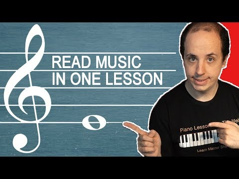 How to Read Music Notes in One Easy Lesson for Beginners