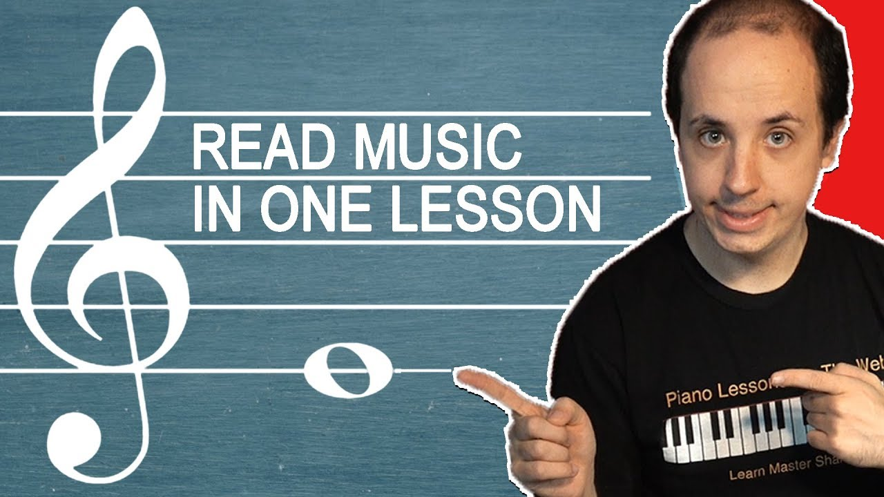How to Read Sheet Music in One Easy Lesson