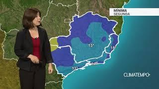 Previsão Sudeste – Temperaturas mais elevadas