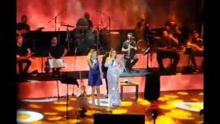 Sibel CAN Ayla ÇELİK Bagdat harbıye acık hava konser 10.08.2016