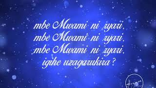 Download lagu TURAGUTEGEREJE MWAMI YESU by Hoziana Choir ADEPR Nyarugenge MP3