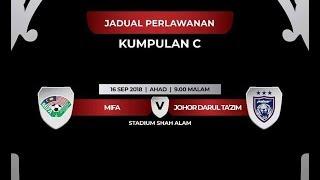 Video LIIVE piala malaysia mifa vs Johor DT download MP3, 3GP, MP4, WEBM, AVI, FLV September 2018