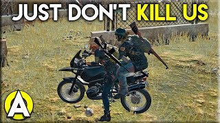 JUST DON\'T KILL US - PLAYERUNKNOWN\'S BATTLEGROUNDS Duo Gameplay (Stream Highlight)