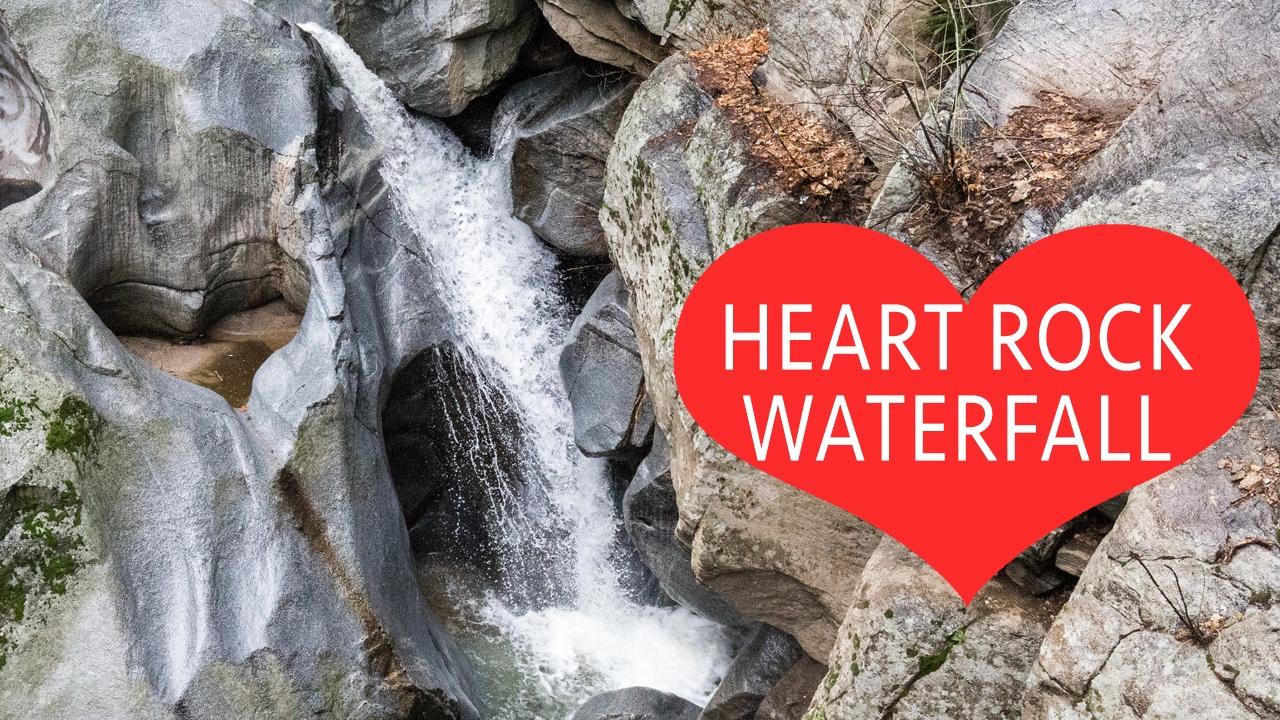 Heart Rock Falls in Crestline CA - The Perfect Valentine's Day Hike
