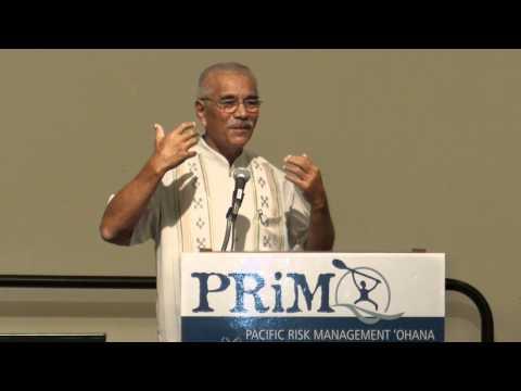 Kiribati President, Anote Tong