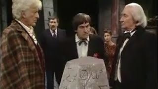 Doctor reunion - Doctor Who  - BBC classic sci-fi
