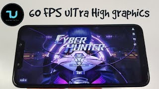 Cyber Hunter 60 FPS Gameplay/Pocophone F1 Gaming test/Snapdragon 845/Ultra high max/graphics