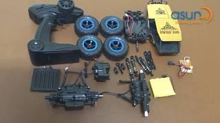Thanh Niên Lắp Ráp Xe Địa Hình  Điều Khiển Từ Xa Rock Crawler 6999 4WD - Asun.vn