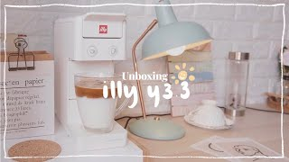 home cafe • unboxing  illy Y3.…