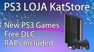 PS3 Loja KatStore Installation introduction + Download link